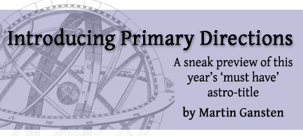 Introducing Primary Directions by Martin Gansten