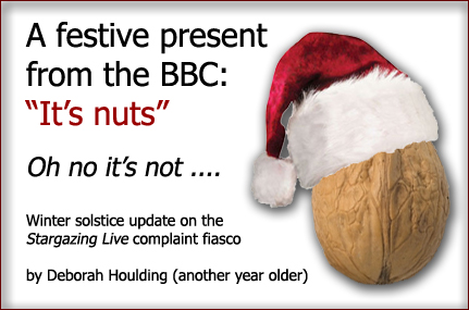 The BBC is completely unethical and utterly incompetent ...ho, ho,ho, just a little lighthearted observation to make the corporation smile