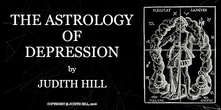 The Astrology of Depression by Judith Hill