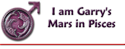 I am Garry's Mars in Pisces